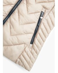 Mango | Natural Quilted Gilet | Lyst