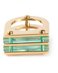 Marc By Marc Jacobs | Green Geometric Ring | Lyst