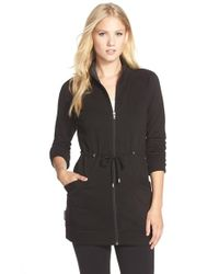 UGG | Black 'Raliegh' Drawstring Jacket | Lyst