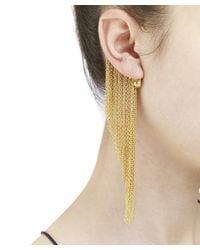 Arme De L'Amour | Metallic Sphere Chain Ear Cuff / Sale | Lyst