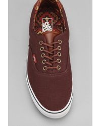 Vans - Brown Era 59 Cl Lined Sneaker for Men - Lyst