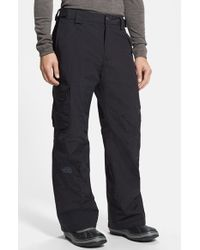 The North Face | Black 'seymore' Ski Pants for Men | Lyst