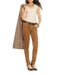 Lauren by Ralph Lauren | Natural Knit Tank | Lyst