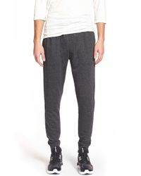 Ezekiel | Black 'trainer' French Terry Knit Jogger Pants for Men | Lyst