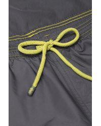 BOSS - Gray 'killifish' | Quick Dry Logo Board Shorts for Men - Lyst
