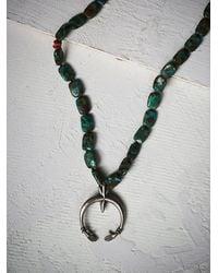 Free People | Blue Clp Jewelry Womens Naja Pendant | Lyst