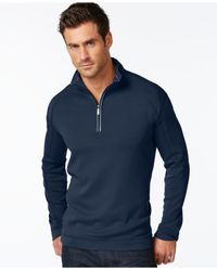 Tommy Bahama | Blue Halftime Long Sleeve Half-zip for Men | Lyst