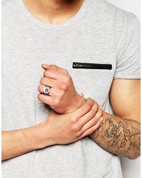 Simon Carter | Metallic Imon Carter Anchor Ring for Men | Lyst