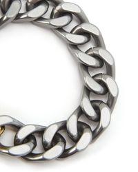 Juicy Couture   Metallic Chunky Jc Padlock Chain Bracelet   Lyst