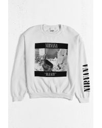 Urban Outfitters - White Nirvana '90s Sweatshirt for Men - Lyst