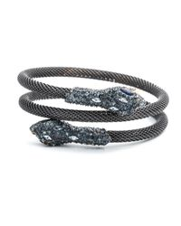 Alexis Bittar - Black Encrusted Serpent Wrapped Bangle You Might Also Like - Lyst