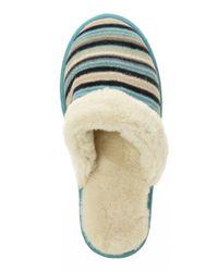 Acorn - Blue Polar Scuff Slippers - Lyst