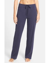 Lauren by Ralph Lauren | Blue Lounge Pants | Lyst