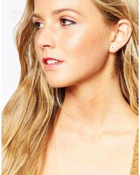 Eyland - Metallic Gold Plated Callista Ball Drop Earrings - Lyst