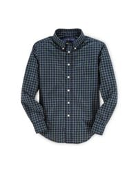 Ralph Lauren - Blue Blake Plaid Cotton Shirt for Men - Lyst