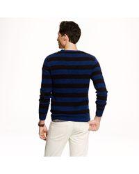 J.Crew - Black Preorder Stripe Cotton Sweater for Men - Lyst