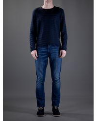 Saint Laurent | Blue Jumper for Men | Lyst