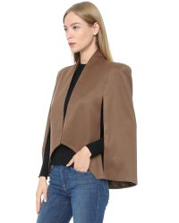 James Jeans - Natural Cape Sleeve Blazer - Lyst