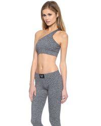 Heroine Sport - Gray Performance Bra - Heather Grey - Lyst