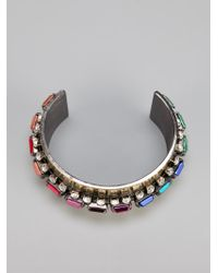 Iosselliani - Metallic Embellished Cuff - Lyst