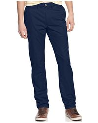 American Rag - Blue Chino Pants for Men - Lyst
