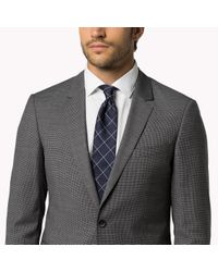 Tommy Hilfiger   Gray Wool Slim Fit Suit for Men   Lyst