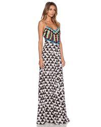 Mara Hoffman - Multicolor Embellished Maxi Dress - Lyst