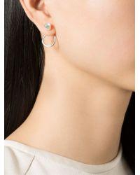 Bjorg - Metallic 'Thousand Wells' Earrings - Lyst