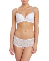 Gossard - White Superboost Lace Short - Lyst