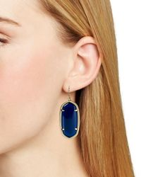 Kendra Scott - Blue Elle Earring - Lyst