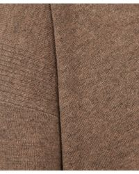 Vince - Brown Slim Fit V-neck Cashmere Knitted Jumper - Lyst