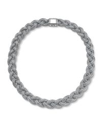 John Hardy - Metallic Medium Braided Necklace - Lyst