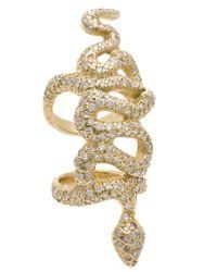Loree Rodkin | Metallic Snake Baby Bondage Ring | Lyst