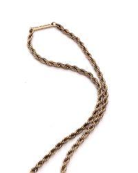 Samantha Wills - Metallic Gemini Dreams Necklace Gold - Lyst
