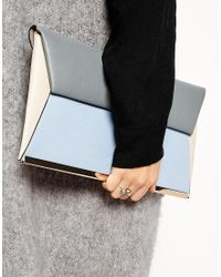 ASOS - Gray Double Faux Pearl Ring - Lyst