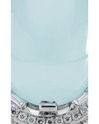 Paul Morelli | Blue Oval Window Baguette Ring | Lyst