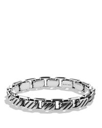 David Yurman | Metallic Modern Cable Empire Link Bracelet for Men | Lyst