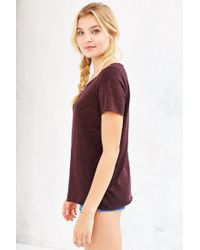 Project Social T - Purple Kate Crew-neck Tee - Lyst