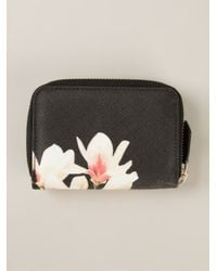 Givenchy - Black Butterfly Print Purse - Lyst