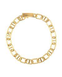 Acne Studios Metallic Eliana Gold-Tone Necklace