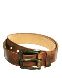 Pepe Jeans - Natural Leather Belt for Men - Lyst
