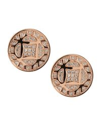 Fossil - Metallic Earrings - Lyst