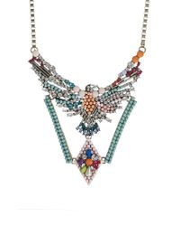 Ashiana | Multicolor Statement Necklace | Lyst