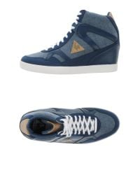 Le Coq Sportif - Blue High-tops & Trainers - Lyst