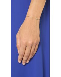 Jennie Kwon - Metallic 4 Bezel Cuff Bracelet - Gold/Clear/Black - Lyst
