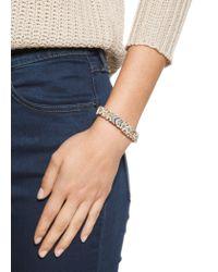 Mango - Blue Crystal Thread Bracelet - Lyst