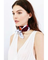 Urban Outfitters - Multicolor Silky Square Scarf - Lyst