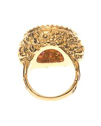 Jade Jagger | Yellow Amethyst, Ruby & Gold-Plated Ring | Lyst