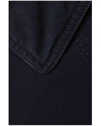 BOSS Orange | Blue Blouson Jacket 'odilo-w' In Cotton for Men | Lyst