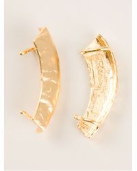 Bjorg - Metallic Reflecting Spheres Earrings - Lyst